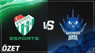 Bursaspor Esports ( BUR ) vs Bahçeşehir SuperMassive ( SUP ) Maç Özeti | 2018 Yaz Mevsimi 5. Hafta