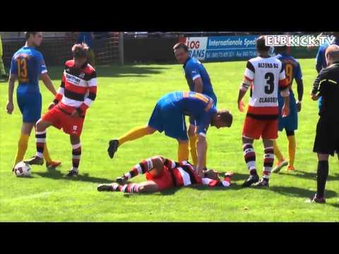 Barmbek-Uhlenhorst - Altona 93 (Oberliga Hamburg) - Spielszenen | ELBKICK.TV