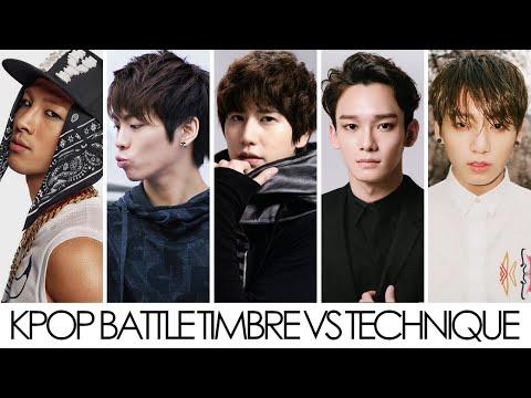 Kpop Battle Timbre VS Technique (Male)