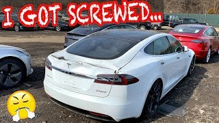 I Bought a Tesla Model S P100D From Salvage Auction & Got Screwed!!!