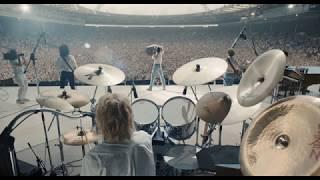 Bohemian Rhapsody Movie | All Live Aid footage