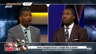 Undisputed - Rob Parker & Greg Jennings heated debate: Has Jimmy G actually been overhyped?