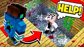 I Found a SECRET ROOM... She was TRAPPED inside! (Scary Survival EP26)