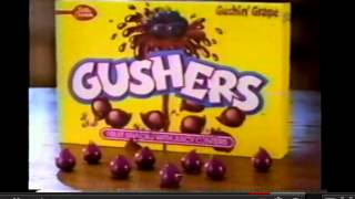 The original Gushers commercial