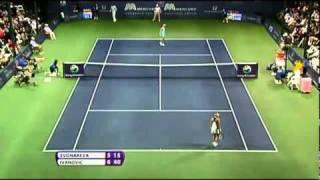 Vera Zvonareva vs Ana Ivanovic (Carlsbad 2011) Highlights