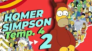 MEJORES MOMENTOS   Homer Simpson   Castellano   4ª Temp. PARTE 2