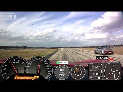 Fastlane Z06 Corvette - Texas World Speedway (clip 2)