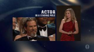 Jeff Bridges Wins Best Actor: 2010 Oscars