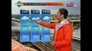 BT: Weather update as of 12:10 p.m. (Oct. 28, 2017)