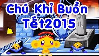 Chú Khỉ Buồn Tết 2015 - Game Trí Tuệ [game.24h.com.vn]