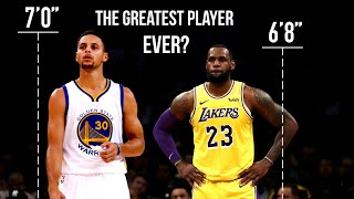 What If Stephen Curry Was 7 Feet Tall?