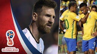 Tổng hợp vòng loại World Cup 2018 | Khu vực Nam Mỹ