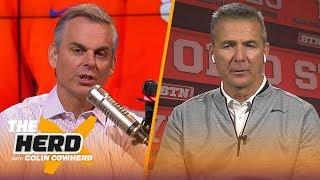 Urban Meyer believes Joe Burrow will win the Heisman, talks Clemson vs Ohio State   CFB   THE HERD