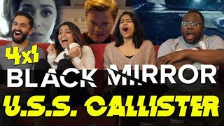 Black Mirror - 4x1 USS Callister - Group Reaction
