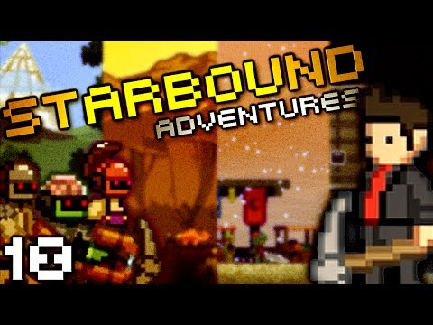 NEW ADVENTURES! (StarBound W/ Seananners, Mr Sark, And Chilled - Part 10) - Smashpipe Film