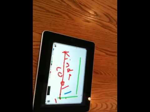IPad whiteboard demo