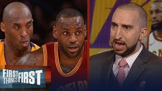 Snake Bit: Nick Wright reveals Kobe Bryant's jealousy of LeBron James | NBA | FIRST THINGS FIRST