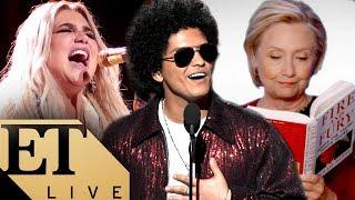 The BIGGEST Moments From the 2018 Grammys: Kesha, Bruno Mars, Kendrick Lamar, & Hillary Clinton