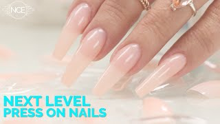 Next Level Press On Nails - Soft Gel Full Cover Nail Tips