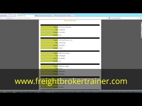 How To Find Freight As A Freight Broker Agent