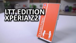 Xperia Z2 Phone from Sony with Custom LTT Skin from dbrand… and a Surprise!