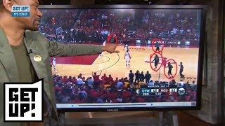 Jalen Rose breaks down film of Rockets from Game 2 win over Warriors | Get Up! | ESPN