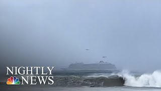 Passengers Airlifted From Stranded Cruise Ship Amid Turbulent Weather | NBC Nightly News