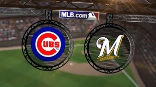 9/26/14: Cubs score six runs in win over Brewers