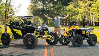 230HP Can-Am X3 VS RENEGADE 1000! You Won't BELIEVE The RESULTS!