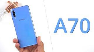 Samsung Galaxy A70 (blau): ausführliches Unboxing, Einrichtung & erster Eindruck | techloupe