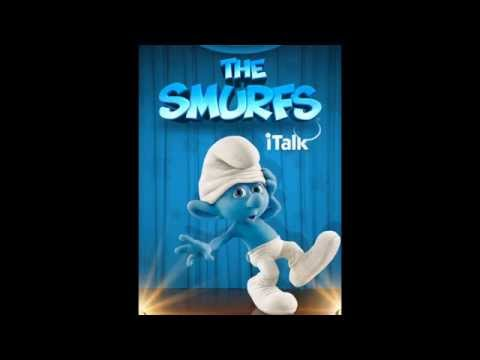 iTalk Smurf App for Kids