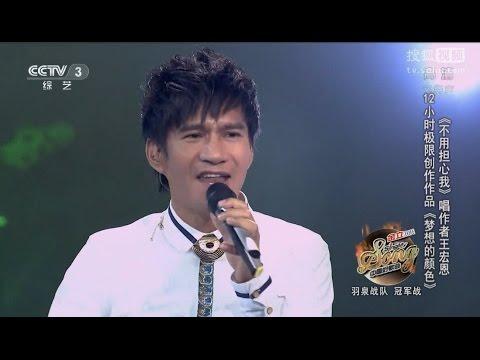 2015_3_6 中國好歌曲 王宏恩 《 夢想的顏色 》