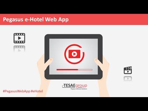 Pegasus e-Hotel Web App - Όλες οι Λειτουργίες