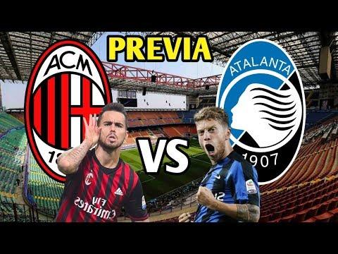 Milan vs Atalanta Bergamasca