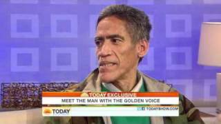 Today Show  Homeless man with golden voice