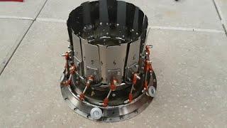 Handmade Jet Engine, Variable Nozzle