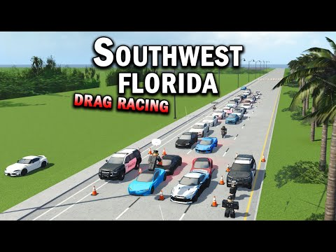 DRAG RACING!!! || ROBLOX - Southwest Florida Roleplay