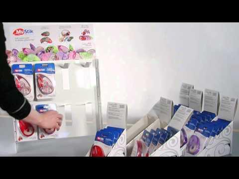 Scrapbook Adhesives Counter Top Display Instructional