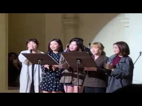 [RedVelvet] 레드벨벳 Singing @ Jang Jin Young's wedding