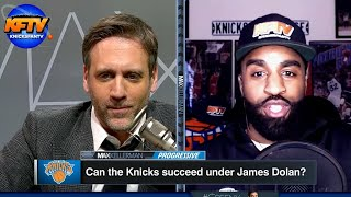 """Knicks Fan TV's CP """"The Fanchise"""" DESTROYS Max Kellerman In An Epic Fan Debate"""