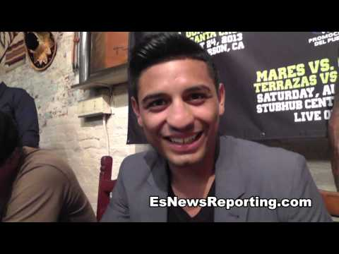 Abner Mares On Gonzales Fight - Smashpipe Sports