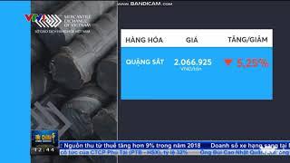 Bản tin Hàng hóa trên Tài chính Kinh doanh VTV1 (Trưa 22/4/2019)