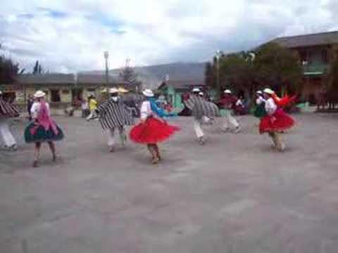 Baile Tipico Ecuatoriano Ciudad mitad del Mundo