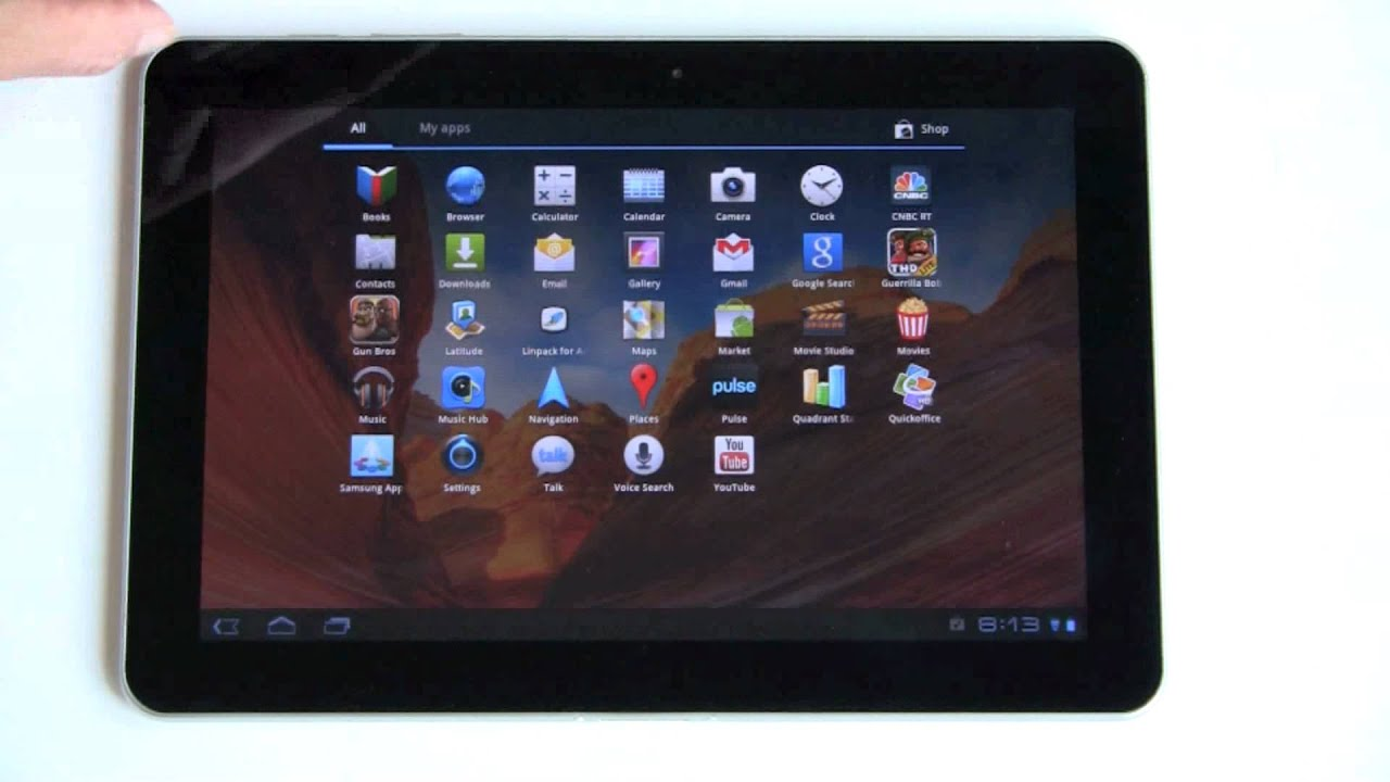"Samsung Galaxy Tab 10.1"" Android Tablet Review - YouTube"