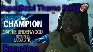 Carrie Underwood Feat. Ludacris~ Champion (Audio) REACTION