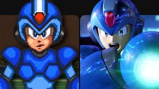 Evolution of Mega Man X Games 1993-2018