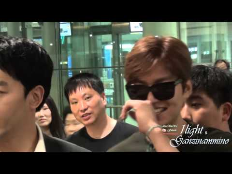 Lee Min Ho 20150808 Incheon Airport 입국