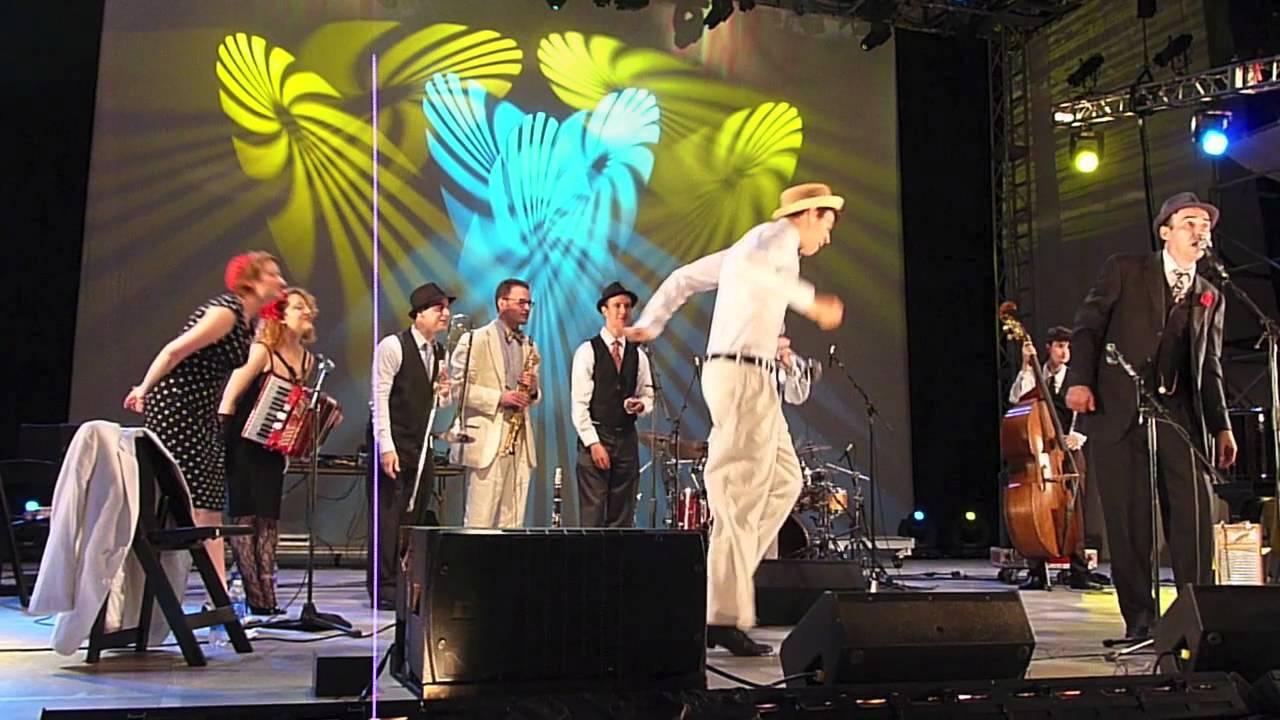 The Hot Sardines @ Lincoln Center's Midsummer Night Swing ...