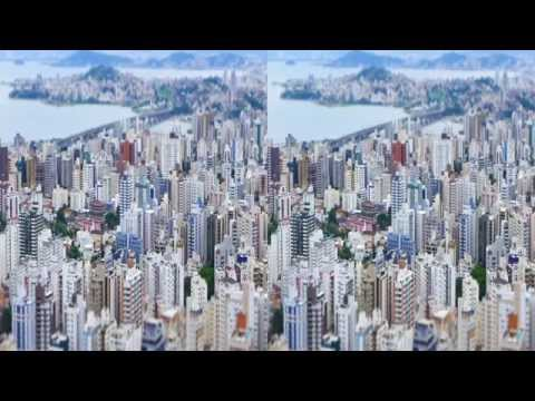 3D - Florianópolis Tilt Shift - Jan/2015