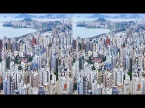 3D - Florianópolis Tilt Shift - Jan/2015